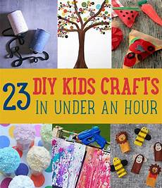 diy kids diy crafts you can make in an hour diy ready