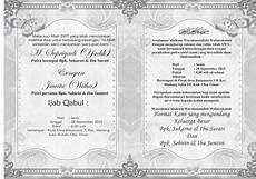 2109 4ever contoh undangan pernikahan