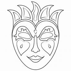 mardi gras mask coloring page free printable coloring pages