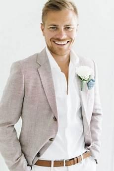 the right beach wedding groom attire the wedding blog