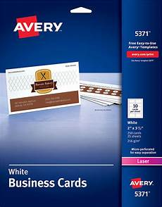 avery business card template for avery 174 business cards for laser printers 5371 avery