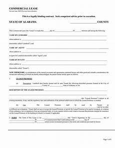 Free Downloadable Lease Agreement Download Free Alabama Commercial Lease Agreement