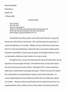 Sample Of Argument Essay Argumentative Essay Examples With Format And Outline At