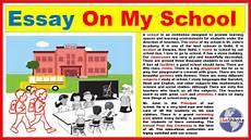 My School Essay For Kids Essay On My School In Engilsh Best And Easy My School