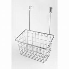 splash home kennedy the cabinet door basket in chrome