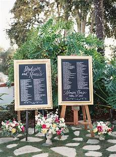 Wedding Reception Table Seating Chart 25 Unique Wedding Seating Charts To Guide Guests To Their