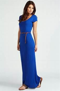 cap sleeve maxi dresses for boohoo lottie cap sleeve belted maxi dress ebay