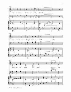 Keepers Of His Light Sheet Music Wonderful Merciful Savior Satb By Dawn J W Pepper