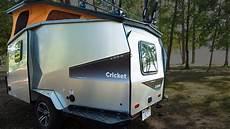 Living Light Campers For Sale Lightweight Cricket Camper Trailer Sleeps Family Of 4 Curbed