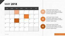 Calendar Slides 2018 Calendar Template Free Powerpoint Template
