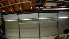 Garage Door Led Lights I Love This Installing 4 Led Light Fixtures On My