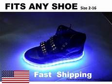 Mens Size 11 Light Up Shoes Light Up Quot Your Quot Shoes Kit Fits Mens Or Womens Nike Size 7