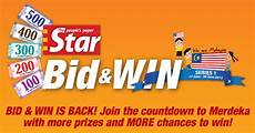 bid and win the bid win 2013 promotion contests events malaysia