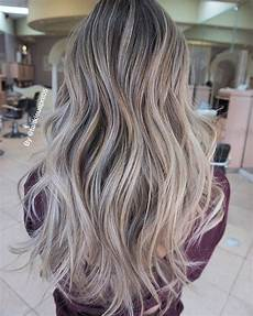 Light Brown Hair With Beige Highlights Beige Ash Client Come In With Grown Out Ombre