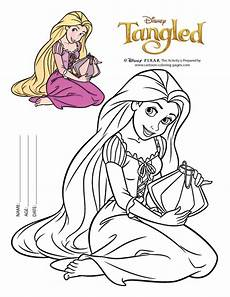 easy rapunzel coloring pages to print birthday deco