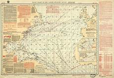 Pilot Charts Atlantic Pilot Chart Of The North Atlantic Ocean June 1923 Issue