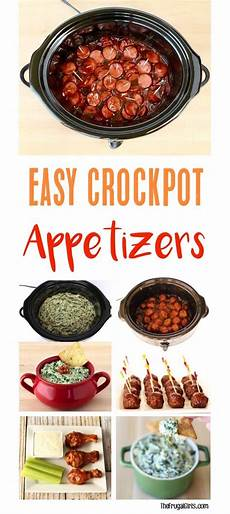 crockpot appetizers for time easy dips and