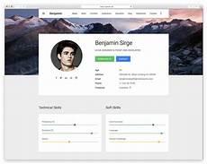 Resume Website Templates Best Resume Website Templates For Online Cv Wplook Themes