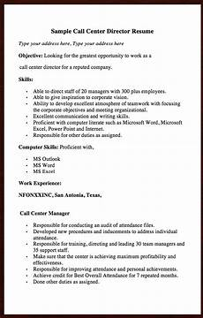 Objective Call Center Resume Here Goes Another Free Resume Example Of Call Center
