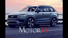 volvo new xc90 2020 2020 volvo xc90 facelift breaks cover with kers system l