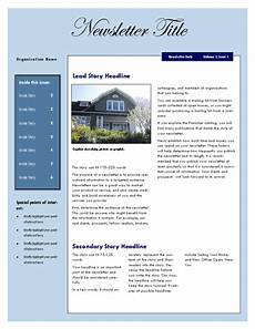 microsoft word newsletter template free real estate newsletter template newsletter templates