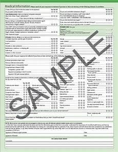 Comprehensive Health History Form 5 Patient Assessment Pocket Dentistry