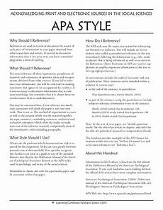 How To Write In Apa Style Examples How To Write Any College Essay In Apa Format Style Need