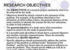Research Objectives Examples Writing Qualitative Research Objectives For Thesis