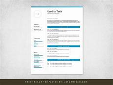Professional Resume Templates For Word Professional Resume Template In Microsoft Word Free Used