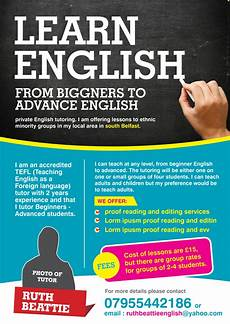 Tutoring Advertisement Bold Serious Tutoring Flyer Design For A Company By