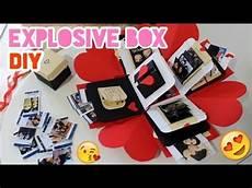 diy box scatola esplosiva explosion box diy handmade falling