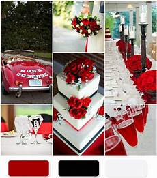 the red wedding color combination ideas