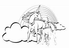ausmalbilder malvorlagen ausmalen pferde 24 einhorn