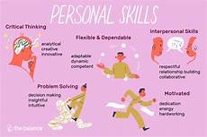 Good Skills And Abilities Personal Skills List And Examples
