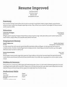 Free Online Job Resume Free Resume Builder Resume Templates To Edit Amp Download