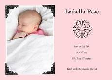 Baby Boy Birth Announcements Wording Baby Girl Announcement Wording Wrapped In Pink With