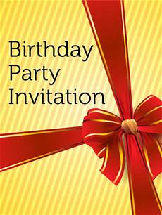 Invitation Cards For Party Birthday Party Invitation Card Birthday Amp Greeting Cards
