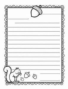 Fall Letters Template Friendly Fall Letter Writing Letter Writing Template
