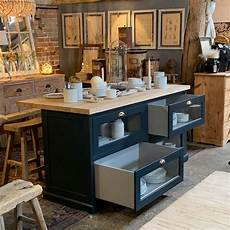 freestanding kitchen island unit freestanding kitchen island with haberdashery drawers