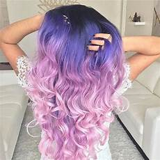 Black To Light Pink Ombre Hair 21 Looks That Will Make You Crazy For Purple Hair Page 2