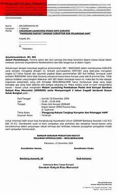 contoh surat undangan acara launching gerram 05 undangan launching posko