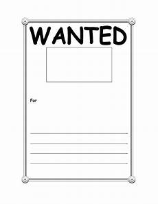 Wanted Poster Template For Pages 29 Free Wanted Poster Templates Fbi And Old West