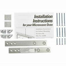 oem ge wx4 a019 microwave cabinet mounting kit