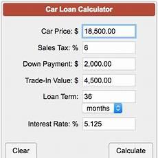 Calculate Car Loan Repayment Car Loan Payment Calculator
