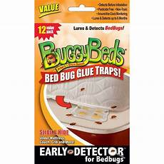 bed bug trap buggybeds value pack of glue traps 12 pack