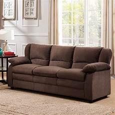 benton fabric sofa chocolate taf furniture