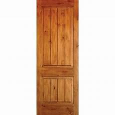 doors interior home depot krosswood doors 24 in x 80 in knotty alder 2 panel