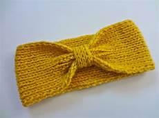knit diy knit bowtie headband on etsy free pattern coming soon