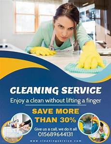 Cleaning Services Advertising Cleaning Service Flyer Template Cleaning Service Flyer