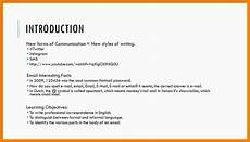 Formal Introduction Email 7 Formal Introduction Email Introduction Letter